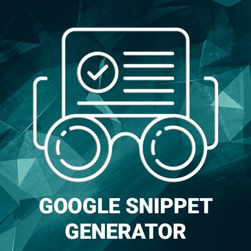 Google Snippet Generator