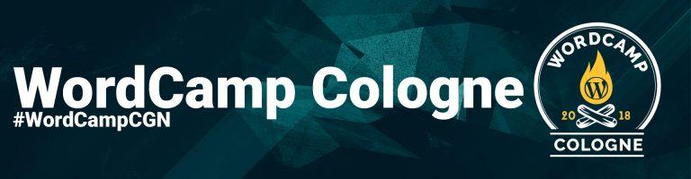 WordCamp Cologne 20.-21. Oktober 2018